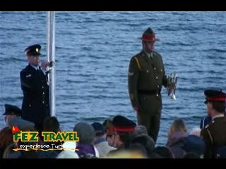 ANZAC day - Dawn Service video [9.2 Kb 1:58 mins]
