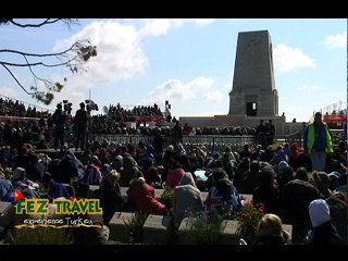 ANZAC Day - Australia video [14.4 Kb 1:05 mins]