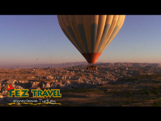 Hot Air Ballooning (1) - Cappadocia video [2.9 Kb 0:34 mins]