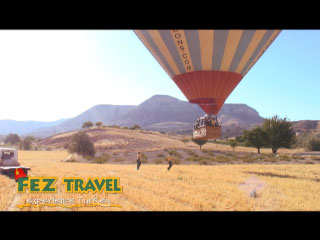 Hot Air Ballooning (3) - Cappadocia video [2.9 Kb 0:44 mins]