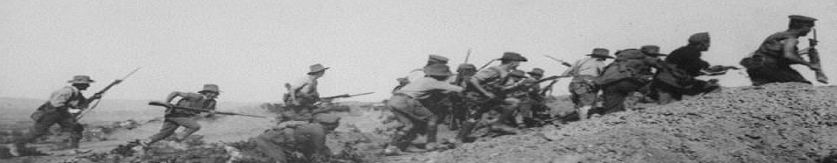 Allied charge at Walkers Ridge - 1915