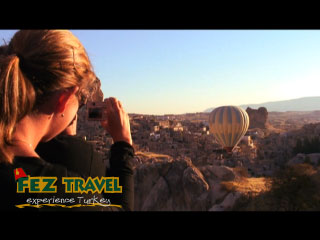 View our If there is one thing to do in Turkey (as Kylie experiences) it has to be hot-air ballooning over the moonscapes of Cappadocia! [0:50]