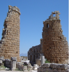 Perge - Hellenistic Gate